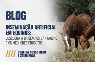 inseminação artificial em equinos
