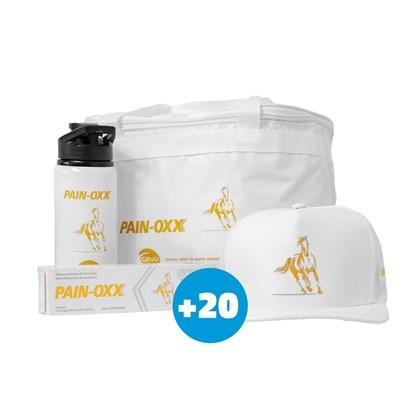 20 pastas PAIN-OXX para Equinos – Ganhe 1 kit exclusivo