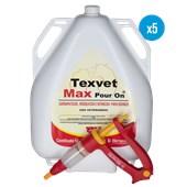 5 Texvet Max Pour-On – 5l – Ganhe 1 aplicador