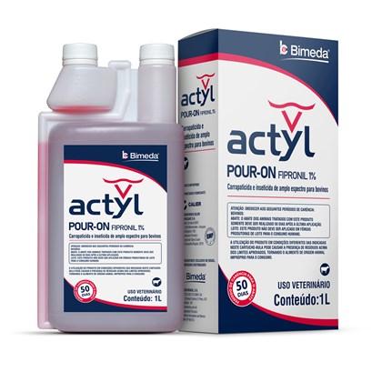 Actyl – Pour-on – Fipronil – 1 litro – Bimeda