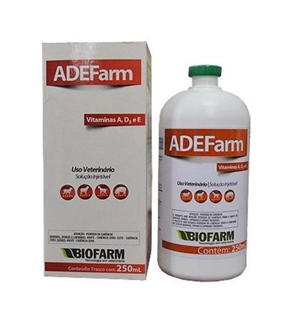 ADE FARM INJETÁVEL BIOFARM 250 ML -