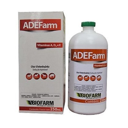 ADE FARM INJETÁVEL BIOFARM 250 ML -