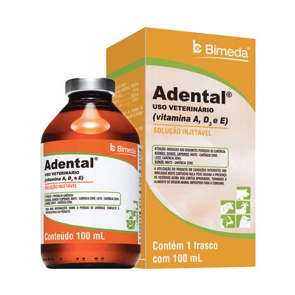 Adental – Polivitamínico – 100ml - Bimeda