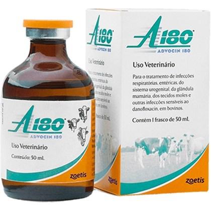 Advocin - Fluorquinolona Antimicrobiana de amplo espectro -  Zoetis - 50 mL