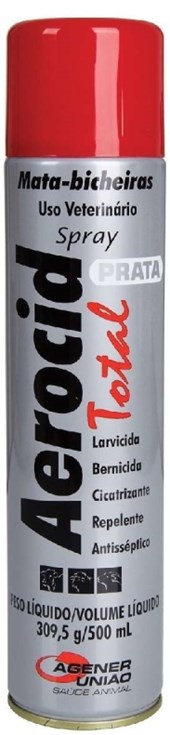 AEROCID TOTAL SPRAY 500 ML - UNIAO AGENER