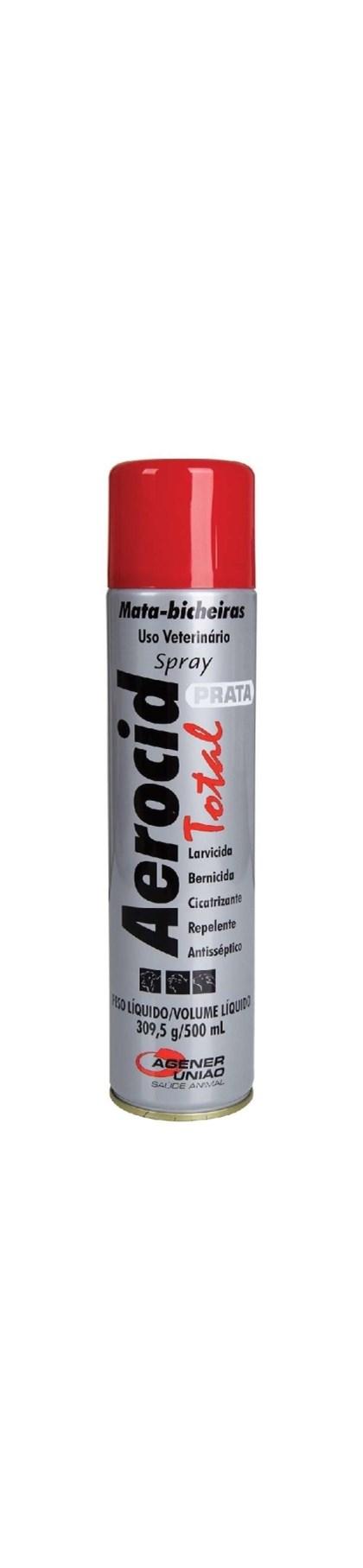 AEROCID TOTAL SPRAY 500 ML - UNIAO AGENER