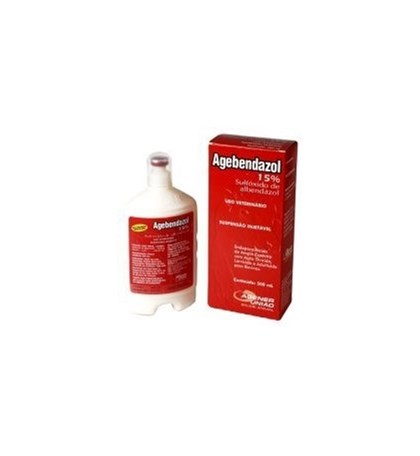 AGEBENDAZOL INJETAVEL 15%-500 ML