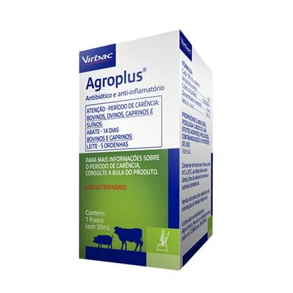 Agroplus – Antibiótico e anti-inflamatório – 100 ml - Virbac