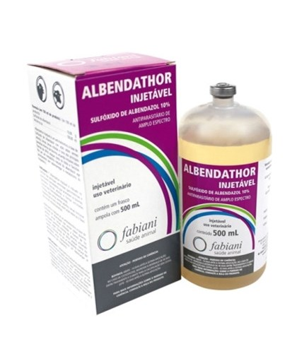 ALBENDATHOR INJ 10% - ALBENDAZOL 500 ML