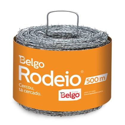 Arame Farpado Rodeio – Rolo 500mts - Belgo