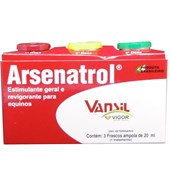 ARSENATROL 20ML - CAIXA COM 3 AMPOLAS - VANSIL