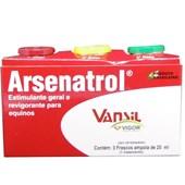 ARSENATROL 20ML - CAIXA COM 3 AMPOLAS - VANSIL