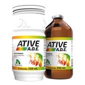 Ative A.D.E – Complexo Vitamínico Injetável – 250 ml – JA Saúde Animal