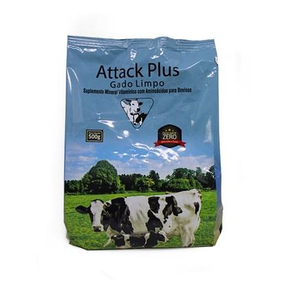 Attack Plus Gado Limpo – Descarte zero - Suplemento – 500 gramas - Agronese