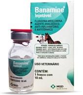 BANAMINE INJETAVEL 10 ML - MSD