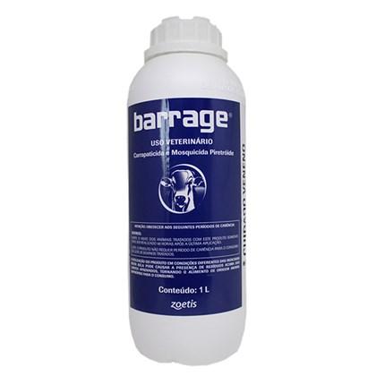 Barrage - Carrapaticida, Mosquicida e Inseticida Piretroide – 1L - Zoetis