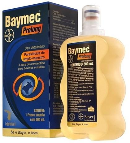 BAYMEC PROLONG 500 ML - IVERMECTINA 1% BAYER