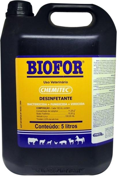 BIOFOR 5 LITROS - CHEMITEC