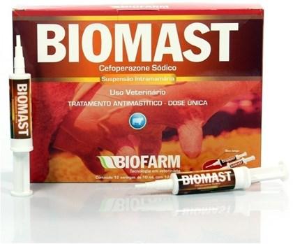 BIOMAST 10 ML - BIOFARM - TRATAMENTO DE MASTITE