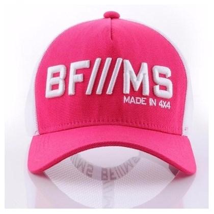 BONE BRANCO COM ROSA - BF///MS