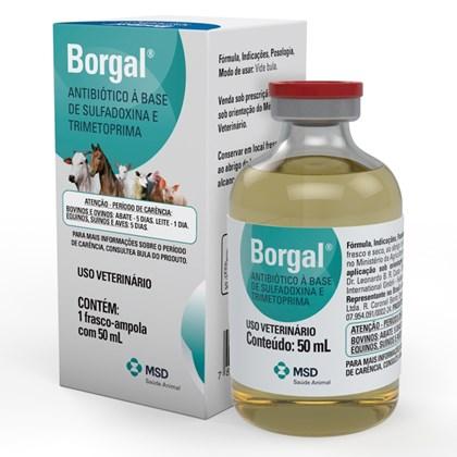 Home · Produtos Veterinários · Terapêuticos. BORGAL 50 ML - MSD d98aa57e90504