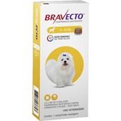 BRAVECTO 2 A 4,5 KG (112,5MG) ANTI PULGAS E CARRAPATO - MSD