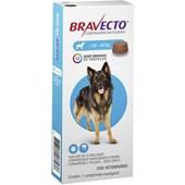 Bravecto 20 - 40kgs Anti Pulgas E Carrapato (1000mg) - Msd