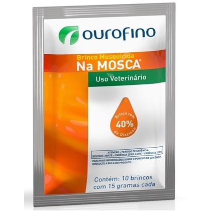 BRINCO MOSQUICIDA OURO FINO - PCT 10 UNID