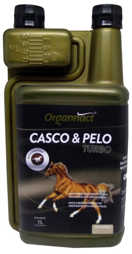 CASCO E PELO TURBO 1 LITRO - ORGANNACT