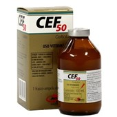 CEF 50 – Ceftiofur- Antimicrobiano – 100ml -  Agener