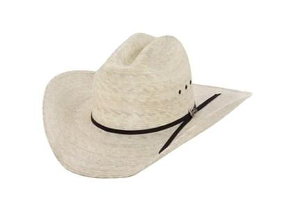 Chapéu Justin Importado 20X Brush Hog Palha  ( Verifique Disponibilidade de Tamanho)