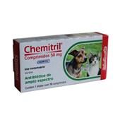 Chemitril – Antibiótico - Comprimidos 50 mg – Chemitec