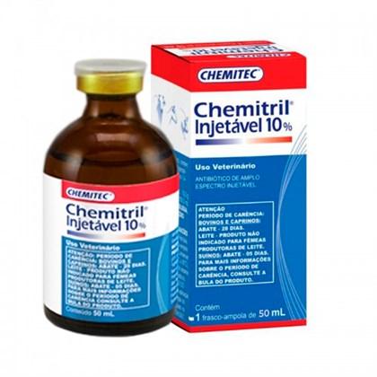 CHEMITRIL INJETÁVEL 10% - 50 ML - CHEMITEC