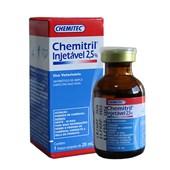 Chemitril Injetável 2,5% - Antibiótico-  20 ml - Chemitec