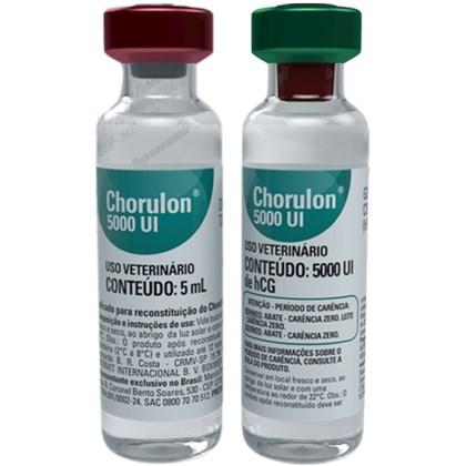 CHORULON 5.000 UI-AMPOLA HCG - MSD