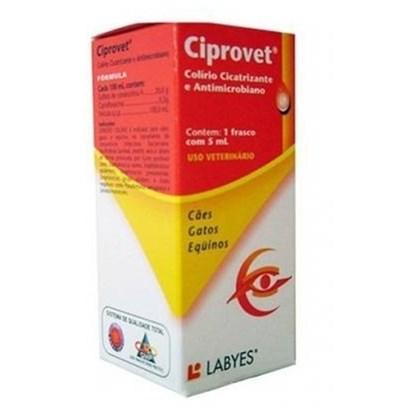 CIPROVET COLIRIO 5 ML - LABYES