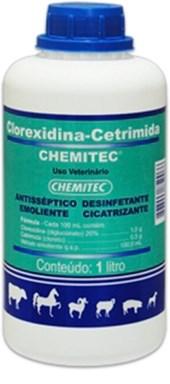 CLOREXIDINA-CETRIMIDA - CHEMITEC - 1 LITRO