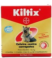 COLEIRA KILTIX PEQUENA - ANTI CARRAPATO BAYER PET
