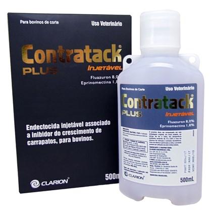 Contratack Plus Injetável – Endectocida – 500ml –Vetoquinol