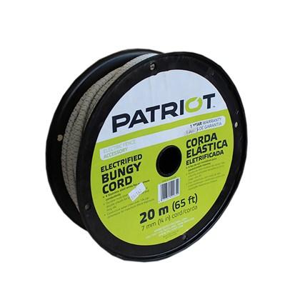 CORDA ELÁSTICA BUNGY PATRIOT - 20 METROS - TRU TEST