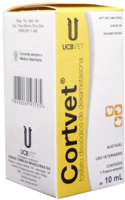CORTVET 10 ML - UCB