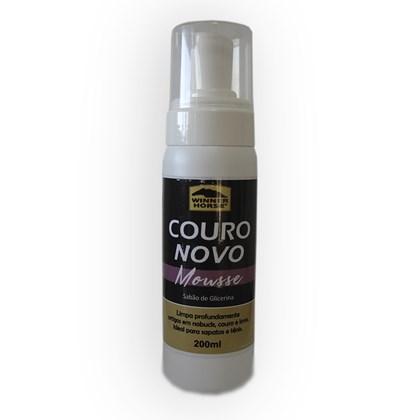 Couro Novo Mousse – Sabão de Glicerina – 200 ml -  Winner Horse