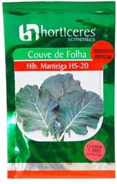 COUVE F.HIB. MANTEIGA  ( HS) 1000 SEMENTES