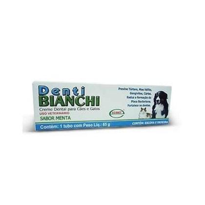 Creme Dental Denti Bianchi - 65 gramas - Ecovet
