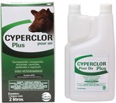 CYPERCLOR PLUS POUR ON 2 LITROS - CEVA