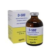 D-500 - Analgésico Injetável - Dipirona Sódica – 50 mL - Zoetis