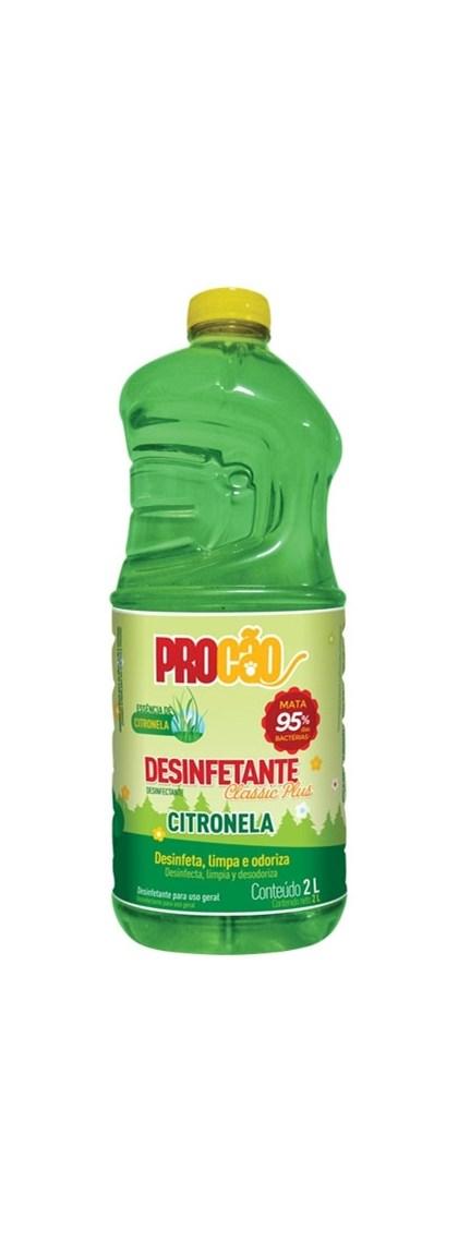 DESINFETANTE CITRONELA CONCENTRADO - PROCAO