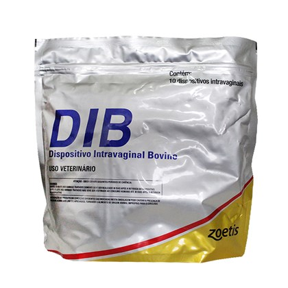 DIB - Progesterona - Dispositivo Intravaginal - Pacote com 10 uni - Zoetis