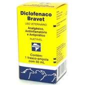 DICLOFENACO  - 50 ML - BRAVET