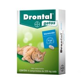 DRONTAL GATOS 4 COMPRIMIDOS - BAYER PET